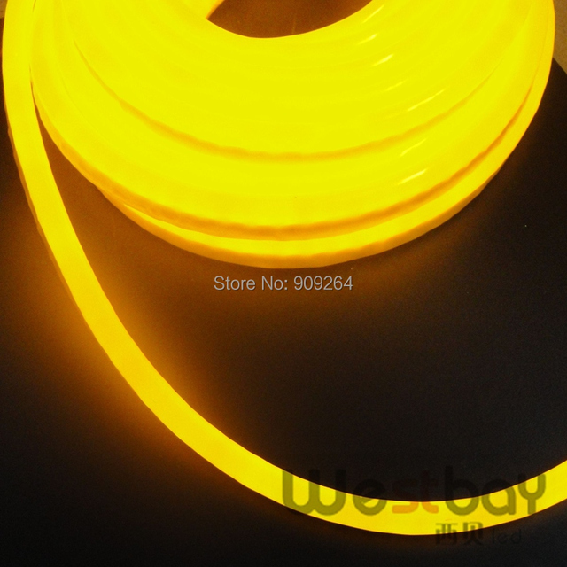 Mini Yellow Led Neon Flex For DIY Home Lighting Solution DC12V Input Light