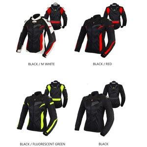 Image 4 - BENKIA Women Motorcycle Jacket Protective Gear Breathable Motorcycle Racing Jackets Moto Jacket Moto Femme S 2XL SIZE