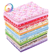 49Pcs/Lot Plain Thin Cotton Fabric Patchwork For DIY Quilting Sewing Fat Quarters Bundle Tissue Telas Tilda Needlework 50cm*50cm