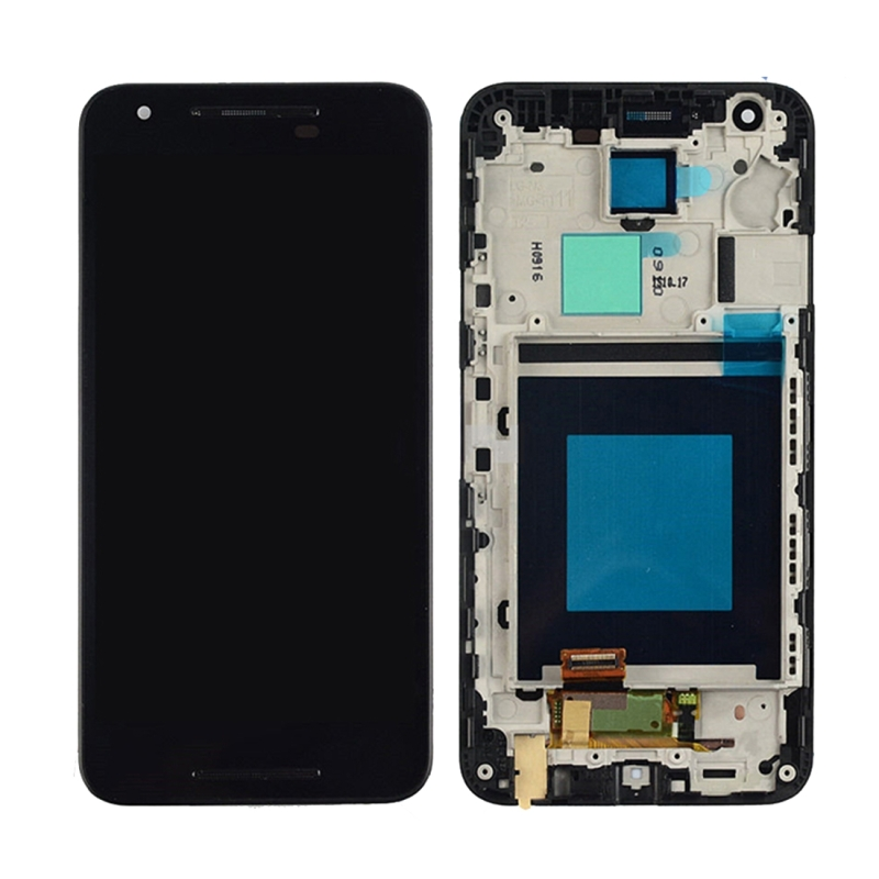 High Quality LCD Screen and Digitizer Full Assembly Lcd Replacement Glass with Frame For LG Nexus 5X H791 H790