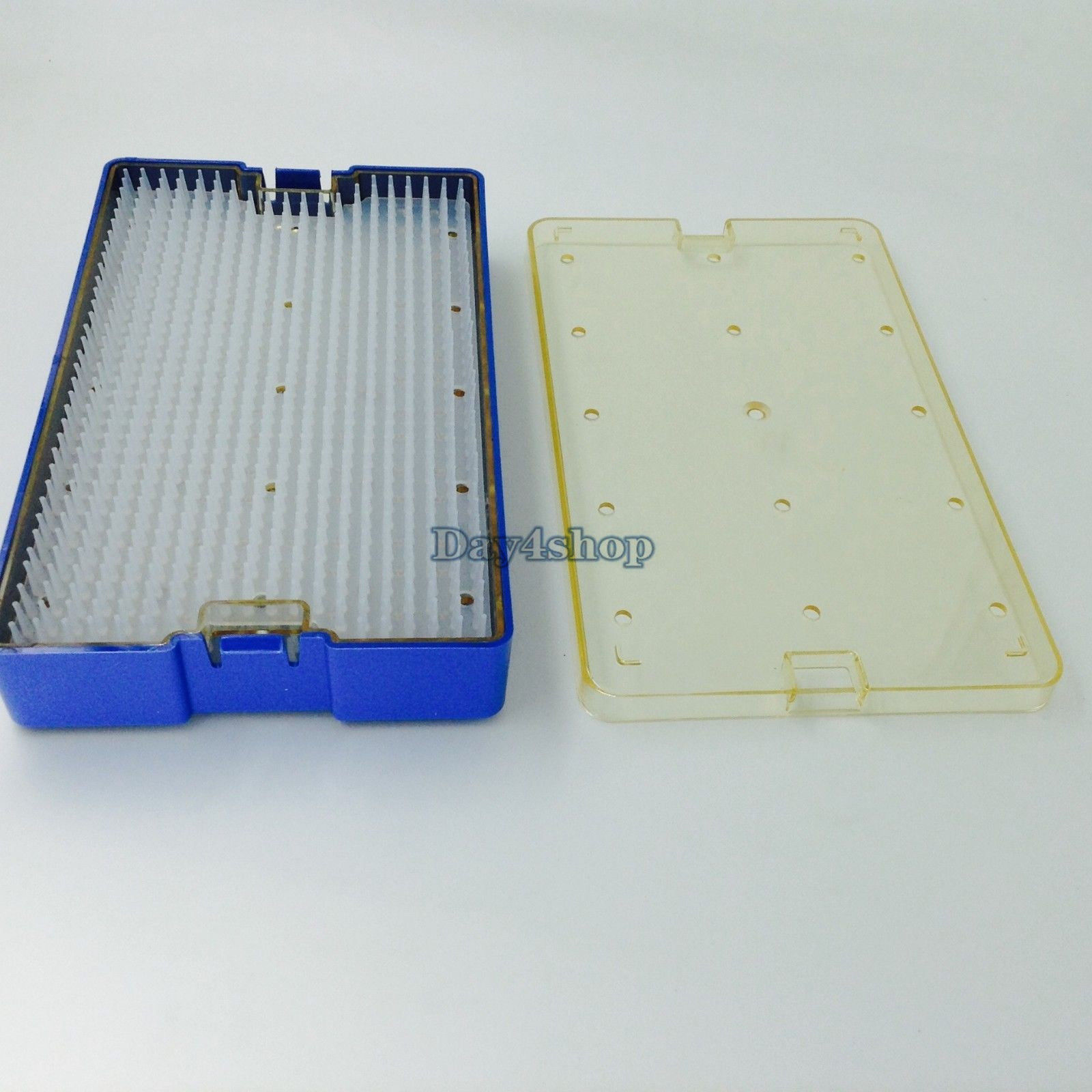 BEST big sterilization tray box cas double level ophthalmic eye surgical instrument