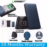 Ugreen 10000mah Power Bank 5V 2 4A Quick Charge Powerbank With MFI Certified 8 Pin Cable