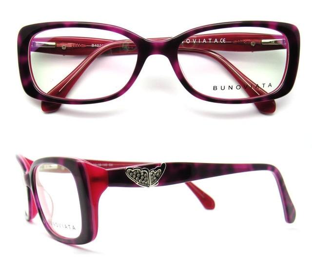 Free Shipping New Designer Acetate Oculos De Grau Grade Decoration Eye Glasses Frame Vintage Women Optical Eyeglasses B40229