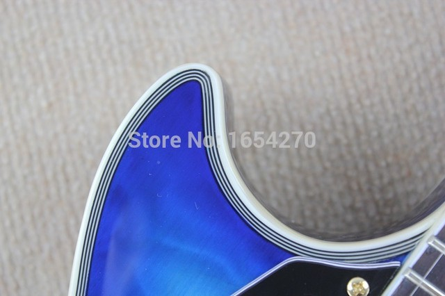 Free shipping factory Promotions Musical Instruments best New Left-handed Style Custom Electric Guitar 150621 4