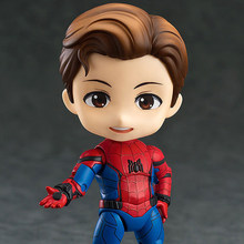 "Marvel The Avengers Spiderman Figura Nendoroid 781 Modelo Boneca Brinquedos Spider Man 4 ""10 cm(China)"