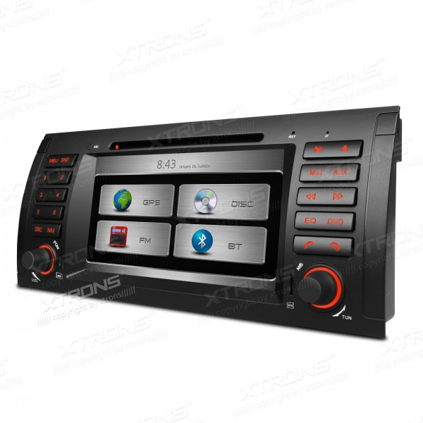 7 Car DVD for BMW E53 1999/2000/2001/2002/2003/2004/2005/2006 & X5 1999/2000/2001/2002/2003/2004/2005/2006 with 3G/WIFI Support