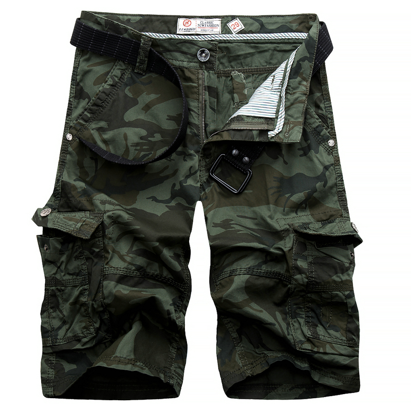 2017 summer mens cargo shorts casual beach work shorts overall bermuda masculina camouflage trousers 29-38 CYG230