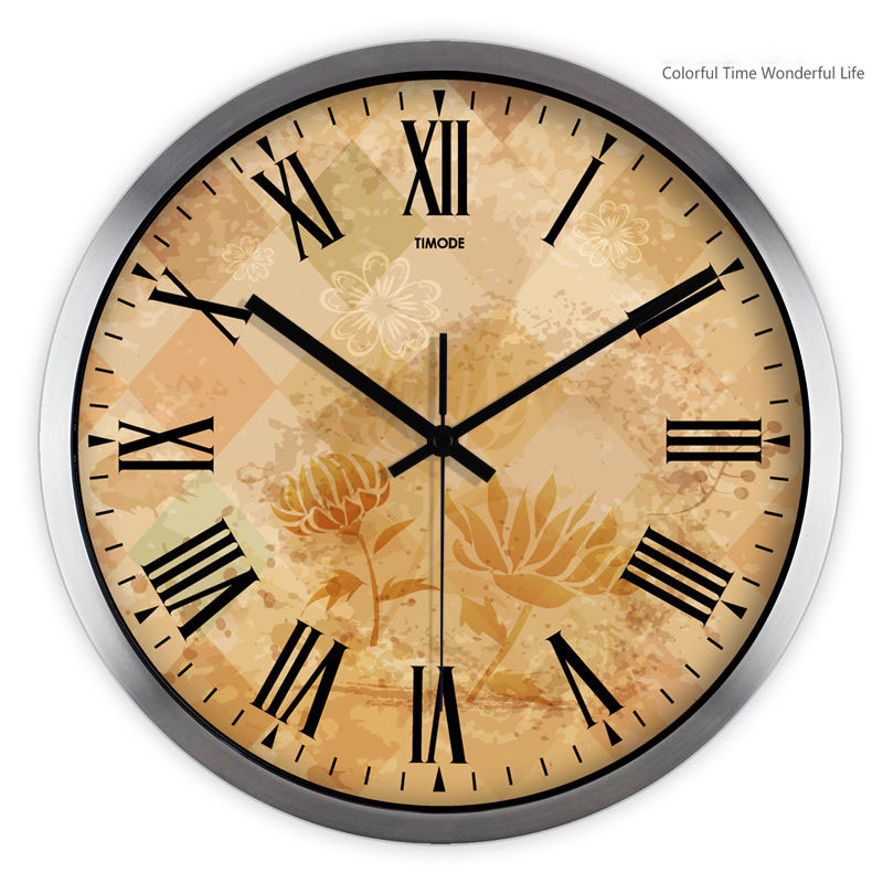 Large Decorative Wall Clocks Home Decor Vintage Modern Klokken ...