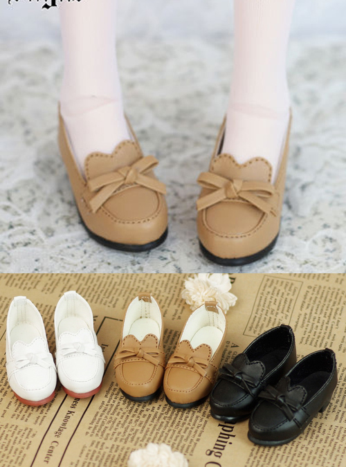 Forest Retro Uniform Shoes 3colors for BJD 1 4 MSD 1 3 SD10 SD13 Super Dollfie