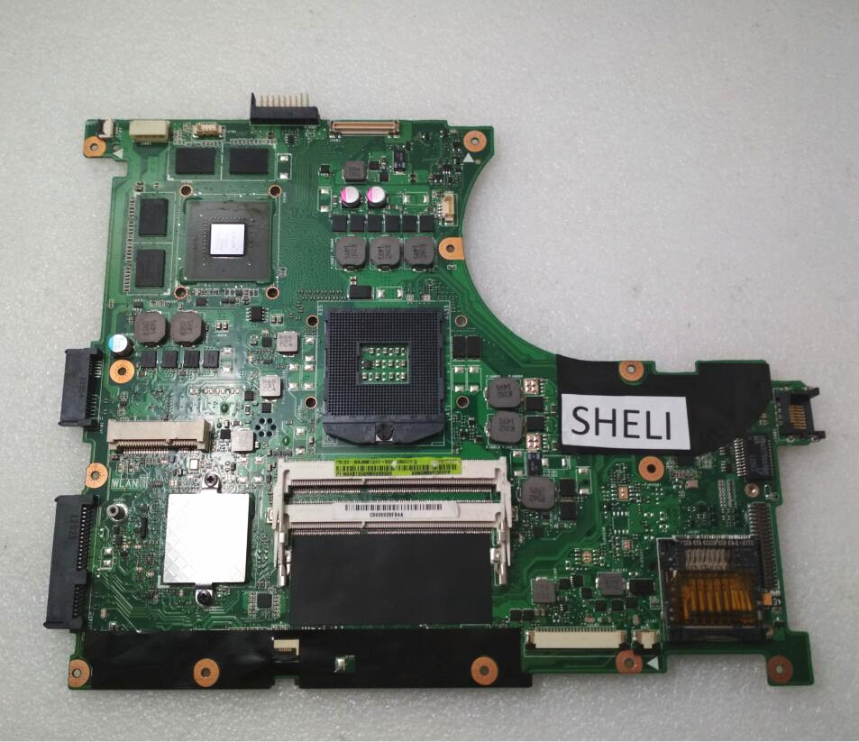 SHELI For ASUS N56VM N56V Motherboard With GT630M REV 2.2 60-N9JMB1301-E02 69N0M3M13E02P