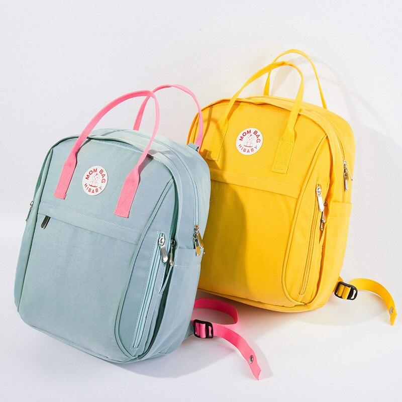 Waterproof Backpack Diaper Bag Baby Nappy Bags Large Maternity Bag Best Baby Stroller Bag Cute Diaper Travel Backpack