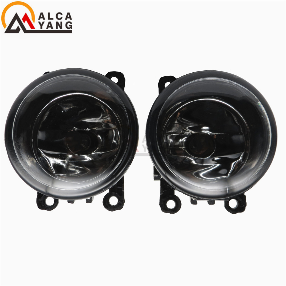 (2pcs/lot) For Renault MEGANE 2 estate 2002-2015 Front Fog Lamps Fog Lights Halogen LED Car Styling 35500-63J02 2 pcs set car styling 6000k ccc 12v 55w drl fog lamps lighting for renault megane 2 estate 2002 2015 35500 63j02