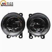 (2pcs/lot) For Renault MEGANE 2 estate 2002-2015 Front Fog Lamps Fog Lights Halogen LED Car Styling 35500-63J02