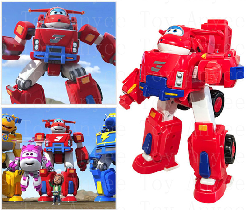 Super Wings Deluxe Transforming Vehicle-Jett-Xmas Gifts
