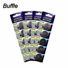 20pcs/4pack CR2450 Button Cell Batteries 3V DL2450 ECR2450 BR2450 KCR2450 Lithium Watch Calculator Coin Battery