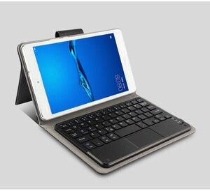 Image 4 - מקרה עבור Huawei MediaPad M5 8.4 מקרה SHT W09 SHT AL09 לוח מגנטי להסרה ABS Bluetooth מקלדת Case כיסוי
