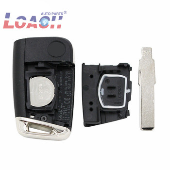 5E0959753E OEM orginal Smart Remote key for Volkswagen VW 434MHZ ID48 Chip with Uncut Blade