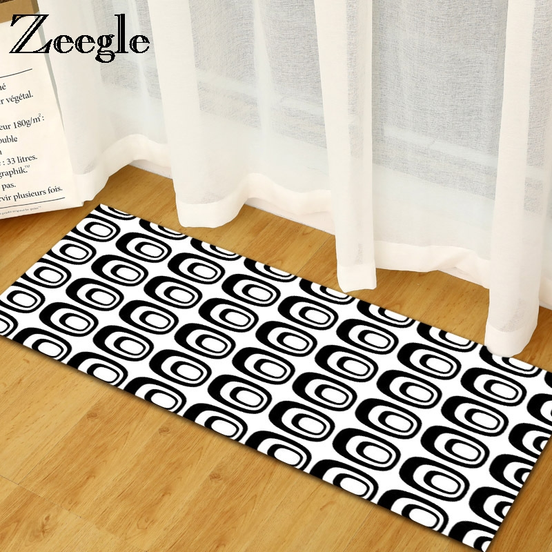 Zeegle Geometric Modern Hallway Rugs