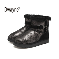 Genuine Leather Snow Boots Zapatos Mujer Tassel Boots For Women Winter Boots Botas Femininas Winter Shoes