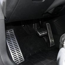Pédale d'accélérateur à gaz automatique, repose-pieds et pédale de frein, pour Volkswagen vw Tiguan Touran, pour skoda Yeti, MT et AT, stylisme de voiture