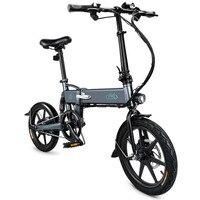 FIIDO D2 Inteligente Pedal Ciclomotor Bicicleta Elétrica Dobrável Bicicleta Elétrica Bicicleta Bateria PLUG UE 7.8Ah/com Freios A Disco Duplo NENHUM IMPOSTO|Controle remoto inteligente| |  -