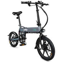 FIIDO D2 Smart Electric Bicycle Folding Bike Electric Moped Pedal Bicycle EU PLUG 7.8Ah Battery / with Double Disc Brakes NO TAX
