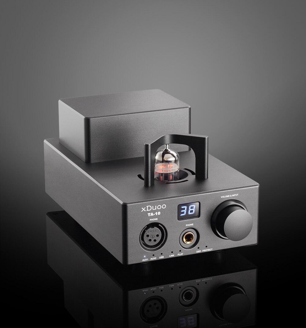 Special Offer Newest Xduoo Ta 10 Ak4490 Xmos Usb Dsd Dac 12au7 Tube Xd 05 Amp Portable Headphone Amplifier Aux Input Digital Interface Black