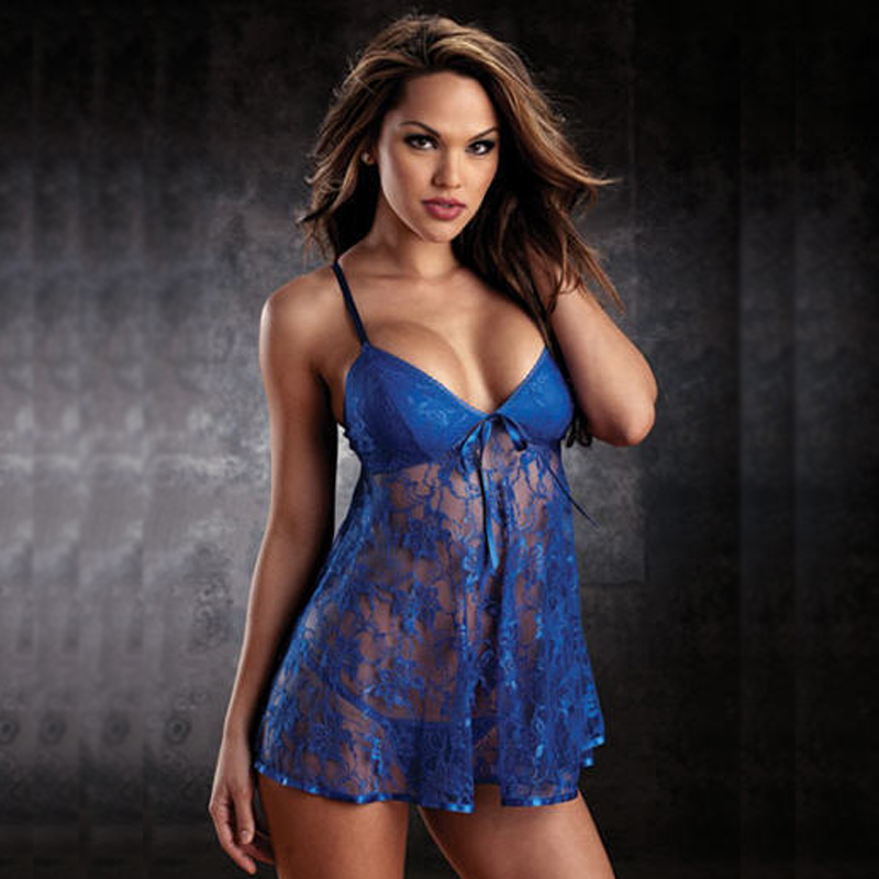 2015 Nuisette Babydoll 6634 Women Plus Size Lingerie Dress Teddy