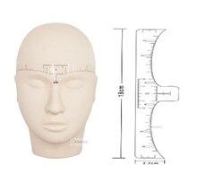 50 枚アートメイク眉毛使い捨て正確な定規 microblading 整形ツール入れ墨測定ステッカー