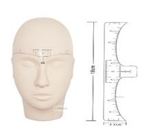 Tatouage, règle précise pour les sourcils, outils de mise en forme Microblading, jetable, 50pcs