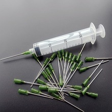 30ml Industrial Syringes with 14G , 1.5 inch(38mm) Blunt Tip Fill Dispensing Needle  (Pack of 10 sets)