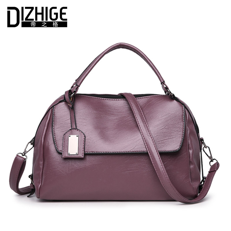 DIZHIGE Brand New Tote Luxury Handbags Women Bags Designer Handbags High Quality PU Leather Bags Women Crossbody Bag Ladies 2018 led dual usb charging charger dock station stand for sony playstation 4 ps4 controller