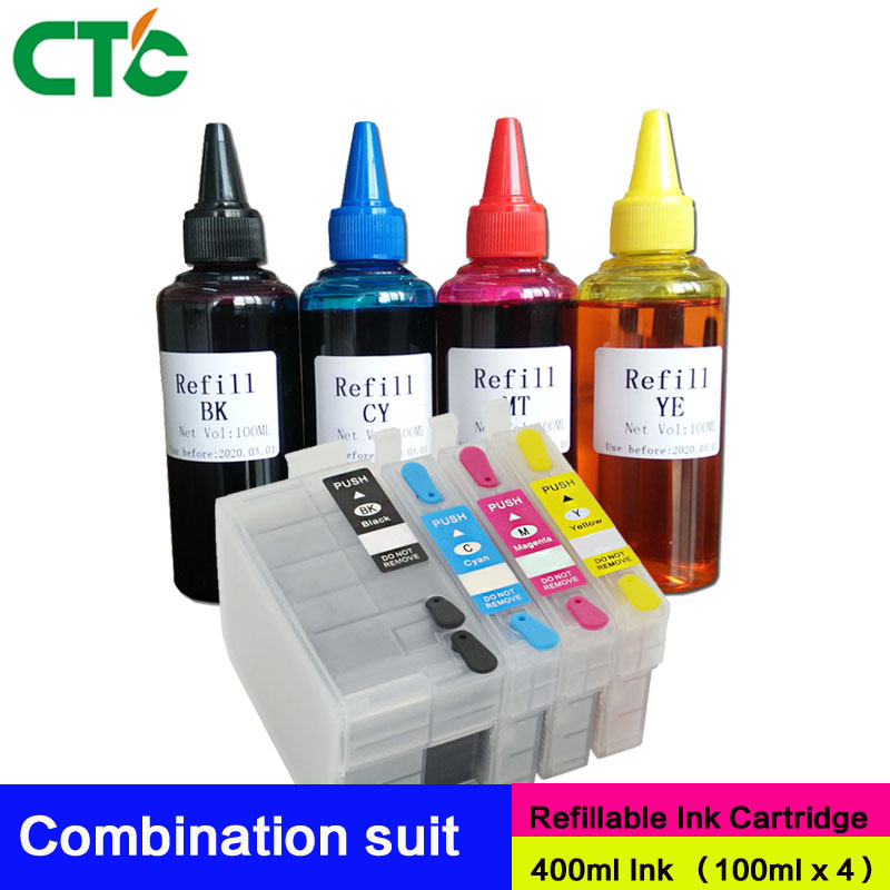 T2701 T2711 27XL Refillable ink cartridges for WF-3620DWF WF-3640DTWF WF-5190 WF-5620 WF-5690 WF-7110DTW WF-7610 WF-7620 printer