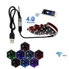 ストリップの USB コントローラ-60SMD-5050-RGB-防水 ×
