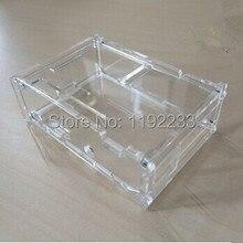 2pcs/lot Transparent Acrylic Case For Raspberry PI B+