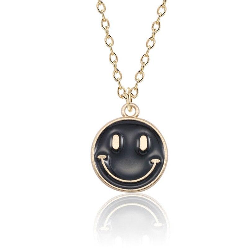 Lovely-Smiling-Face-Pendant-Necklace-Female-Fashion-Enamel-Yellow-Pink-Black-Smile-Round-Gold-Chain-Women.jpg_640x640