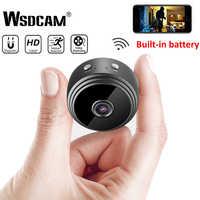 Mini caméra WiFi 1080 P HD sans fil IP P2P caméra petite Micro caméra de détection de mouvement Vision nocturne moniteur à domicile caméscopes de sécurité