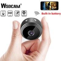 Mini WiFi kamera 1080P HD kablosuz IP P2P kamera küçük mikro kamera hareket algılama gece görüş ev monitör güvenlik kameraları