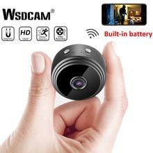 Экшн-камера с Wi-Fi подключением Камера 1080 P HD Беспроводной IP P2P Камера небольшой микро-камера с обнаружением движения Ночное видение домашний монитор безопасности видеокамеры