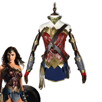 Super Hero Movie Wonder Woman Cosplay Costume Adult Princess Diana Dress Full Sets Party Halloween Carnival Uniforms Custom Made