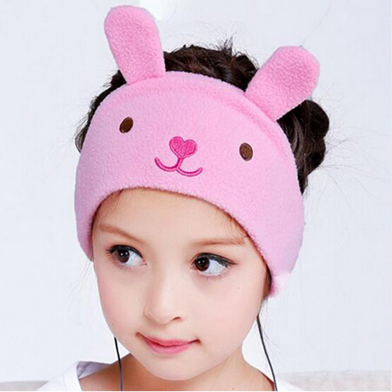 Children cartoon headband headphones Adjustable Soft Fleece Kids Super Comfortable Headband Perfect Earphones for home /travel ultra soft children kids cartoon toothbrush dental health massage 1 replaceable head outdoor travel silicone retractable folding