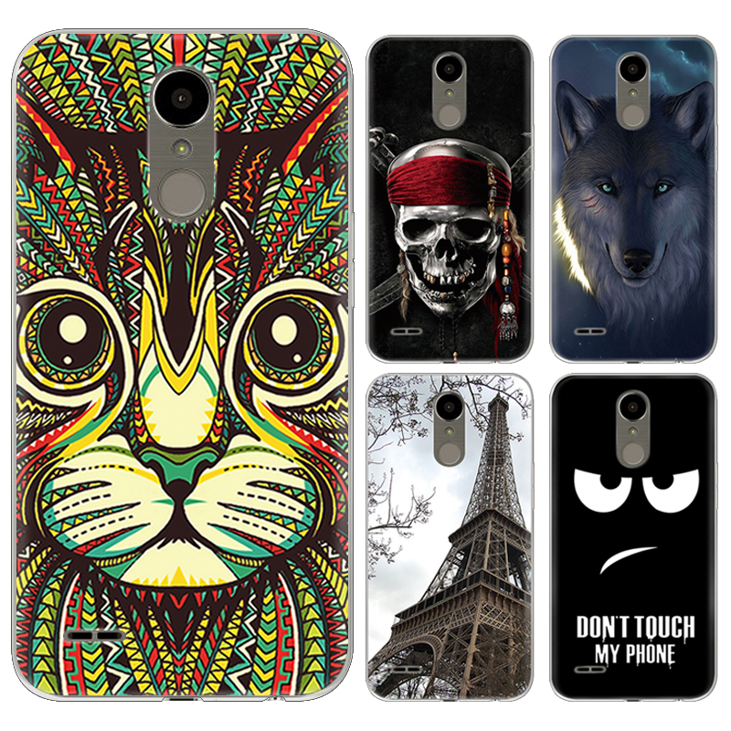 New Arrival Phone Case For LG K10 (2017) X400 M250N K20 plus LG LV5 5.3-inch Fashion Design Art Painted TPU Soft Case