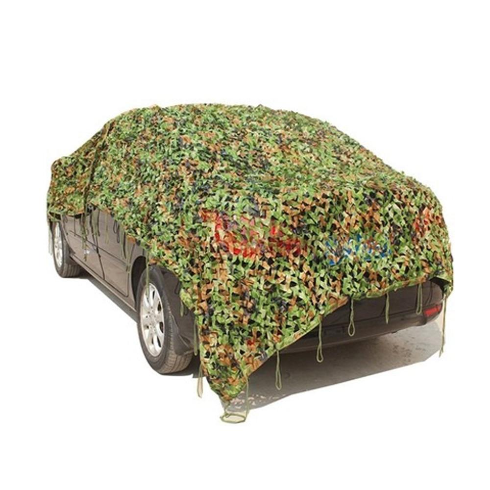 Крыша автомобиля крыша гаража палатка навес для машины камуфляж сетка Открытый Охота Кемпинг Военная фотография джунгли сетка