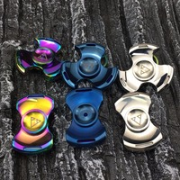 Pcc Team Tri Spinner Fidget Spinner Steel Hand Spinner 688 Hybrid Ceramic Bearing Educational Toys Spinner