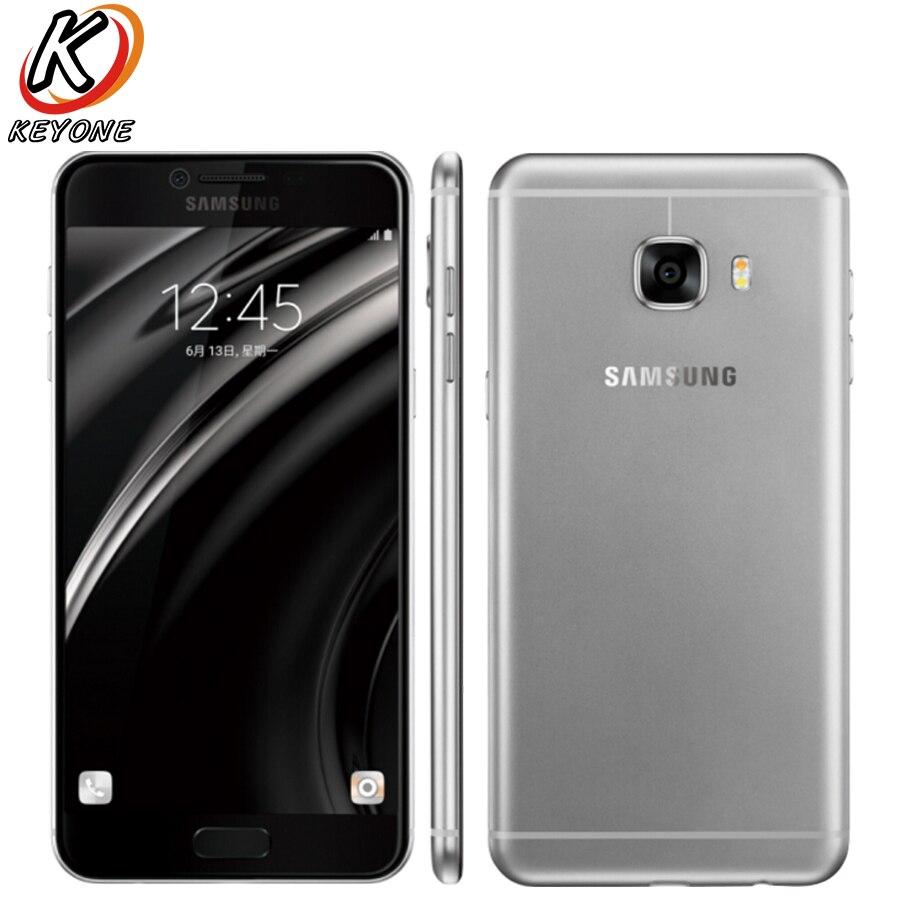 New Original Samsung Galaxy C5 C5000 4G LTE Mobile Phone 5 2 4GB RAM 64GB ROM
