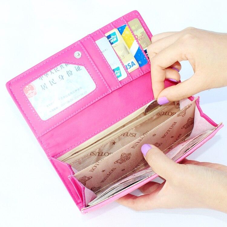 relevo carteira bolsa, senhoras clutch Material Principal : Camurça
