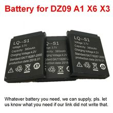 For Smart Watch DZ09 A1 GT08 Q18 V8 V9 V10 Q50 Q90 Battery Smartwatch A1 Batteria V8 Rechargeable Wholesale(China)