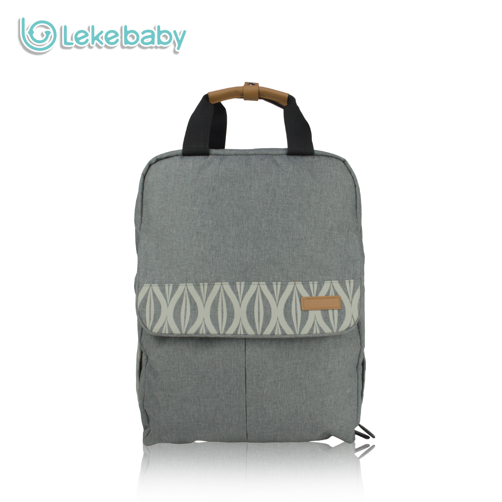 Lekebaby Fashion Maternity Bag Diaper Bag Backpack for Baby Care Large Capacity Travel T ...