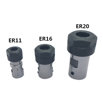 1PC ER11 Collet Chuck Extension Rod Spindle Collet Lathe Tools Holder Inner 5MM 6MM 8MM For CNC Milling Boring Grinding Tool Holder