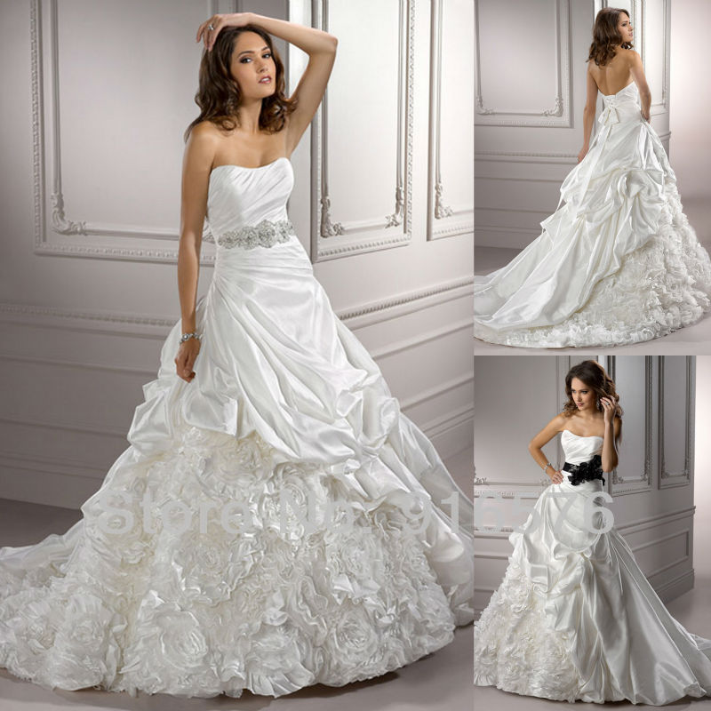 Online Buy Wholesale a line wedding dress pattern from China a ...